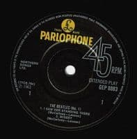 THE BEATLES The Beatles No. 1 EP Vinyl Record 7 Inch Parlophone...